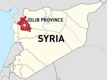 Idlib simple map