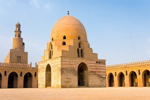 "The mosque of ""Ibn-Tulun"", Cairo"